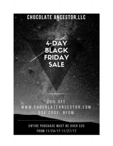 chocolate ancestor, Black Friday, Cyber Monday, Sale