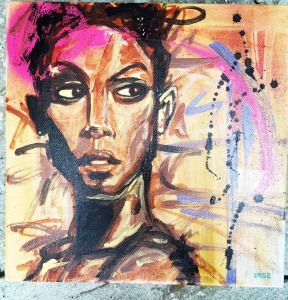 couple, couples, gift, gifts, Black, Black people, Painting, paint, painted, artist, artists