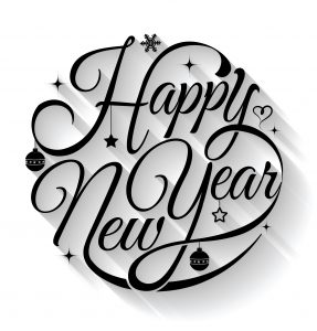 Happy New Year, Black, business, business, 2018, new year resolution