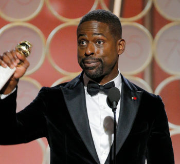 Sterling K. Brown, golden globe, winner, Black man, Black