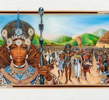 Queen Nandi, Black queen, Shaka Zulu, Black History 365, DDH: Daily Dose of History