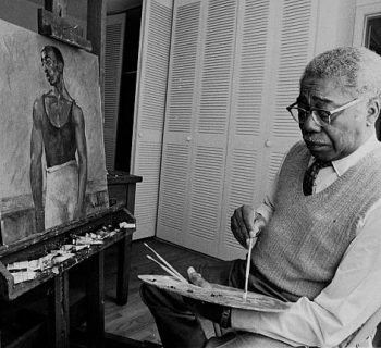 Aaron Douglas, Black art, Black artist, Black artists, Black painter, Black painters, Black History, Black History 365, DDH: Daily Dose of History