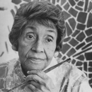 Alma Thomas, Black painter, Black artist, Black art, Black History, Black History 365, DDH: Daily Dose of History