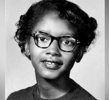 Claudette Colvin, Civil Rights Activist, Black History, Black History 365, Bus Boycott, DDH: Daily Dose of History