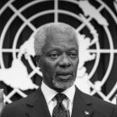 Kofi Annan, Black man, Black politician, 7th Secretary General, United Nations, Kofi Annan Foundation, Black History, Black History 365, DDH: Daily Dose of History
