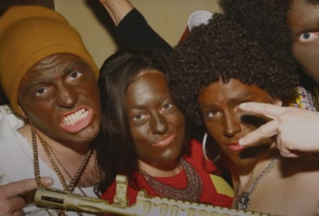 Blackface, white privilege, racism, racist, minstrel shows,