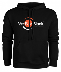We Buy Black, WBBShop, webuyblack.com, sweatshirt, hoodie, shirt, Black-owned, Buy Black Movement