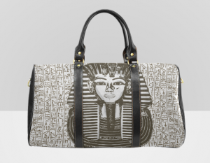Travel Tote bag, King Tut, SoulSeed Enterprises, webuyblack.com, sweatshirt, hoodie, shirt, Black-owned, Buy Black Movement