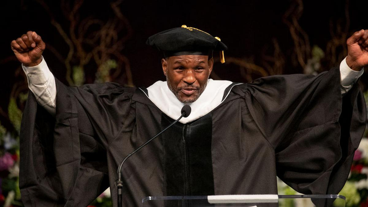 Once A Prisoner, Champ Bernard Hopkins Now Honored By Temple University