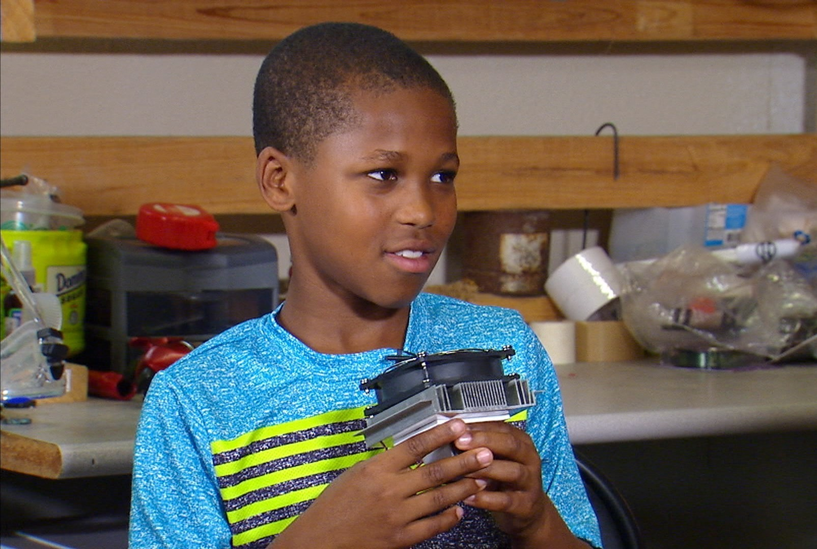 At 12-Years-Old He Patented Invention To Stop Child Hot Car Deaths