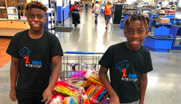 Middle Schooler Brothers Run A Bakery & Take College Courses