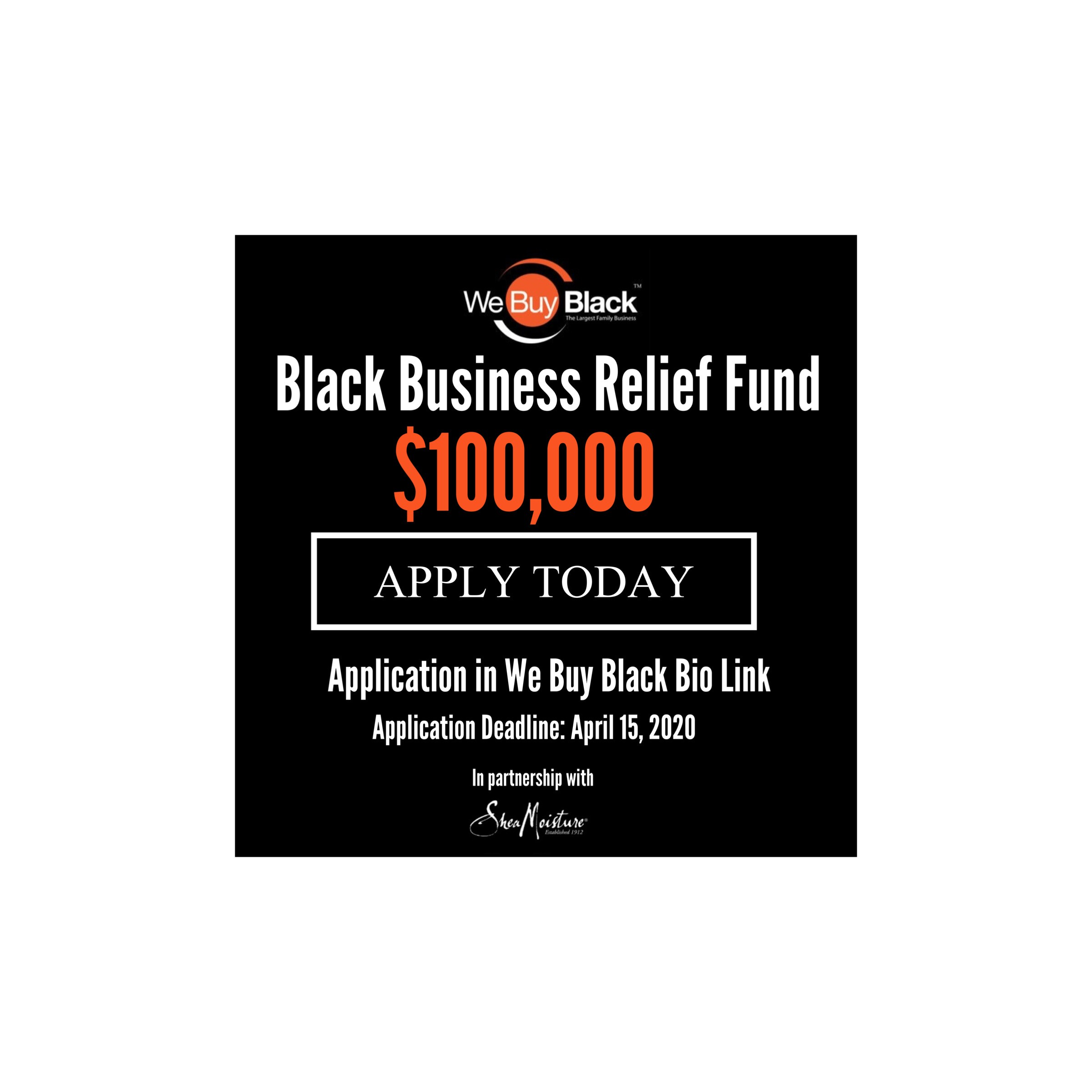 Black Business Relief Fund Official Rules